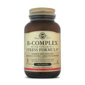 B-Complex Fórmula Antiestrés - Solgar - ¡Con Vitamina C!