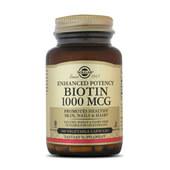 BIOTINA - Solgar - Ayuda a metabolizar macronutrientes