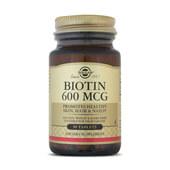 BIOTIN 600mcg 50 Tabs - SOLGAR