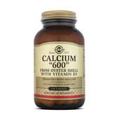 CALCIO 600 - Solgar - ¡Ahora con vitamina D!