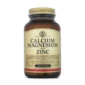 Refuerza los huesos con CALCIO + MAGNESIO + ZINC de SOLGAR
