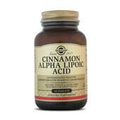 Combina canela y ácido alfa lipoico de Solgar para los niveles de glucosa
