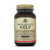 Alga Kelp Atlántico Norte - Solgar - Cuidado de la tiroides