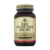 Reduce el colesterol con la levadura roja de arroz de Solgar