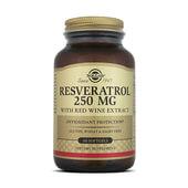El resveratrol de Solgar tiene múltiples propiedades antioxidantes.