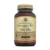 SUPER POTENCY VITAMINA B1 - SOLGAR