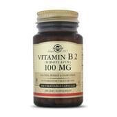 VITAMIN B2  - SOLGAR - Riboflavina para tener más energía