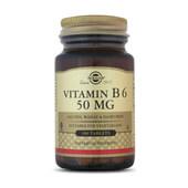 Descubre la piridoxina o vitamina B6 de Solgar