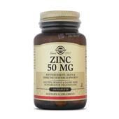 ZINC 50mg 100 Tabs - SOLGAR