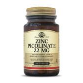 ZINC PICOLINATE 22mg 100 Tabs - SOLGAR