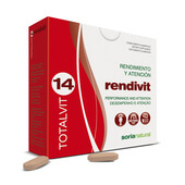 TOTALVIT 14 RENDIVIT 28 Tabs - SORIA NATURAL