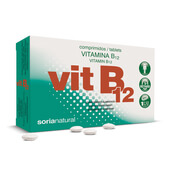 VITAMINA B12 - 48 Tabs - SORIA NATURAL