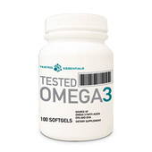 TESTED OMEGA-3 100 Softgels - TESTED NUTRITION