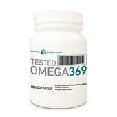 TESTED OMEGA 369 - 180 Softgels