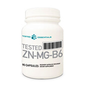TESTED ZN-MG-B6 90 Caps - TESTED NUTRITION - ZMA