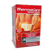 THERMACARE ZONA LUMBAR Y CADERA 4 Unds. - THERMACARE
