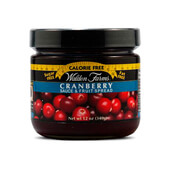 CRANBERRY SAUCE & FRUIT SPREAD 340g - WALDEN FARMS