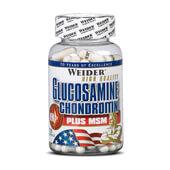 GLUCOSAMINE CHONDROITIN + MSM 120 Caps - WEIDER