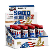 SPEED BOOSTER PLUS 2 - 20 x 25ml - WEIDER