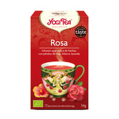 ROSA BIO 17 Infusiones - YOGI TEA