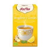 JENGIBRE Y LIMON BIO 17 Infusiones - YOGI TEA