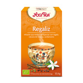 REGALIZ BIO 17 Infusiones - YOGI TEA