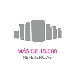 Más de 15.000 referencias
