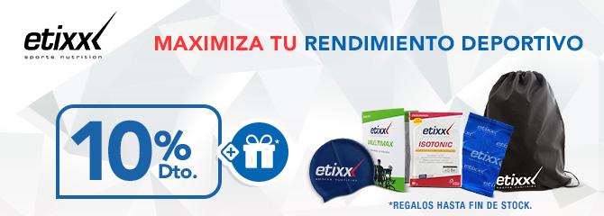 Etixx 10% dto + regalos