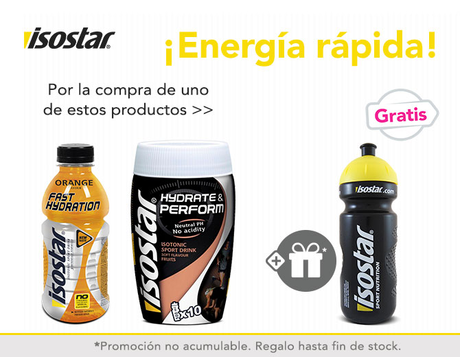 Isostar promo producto