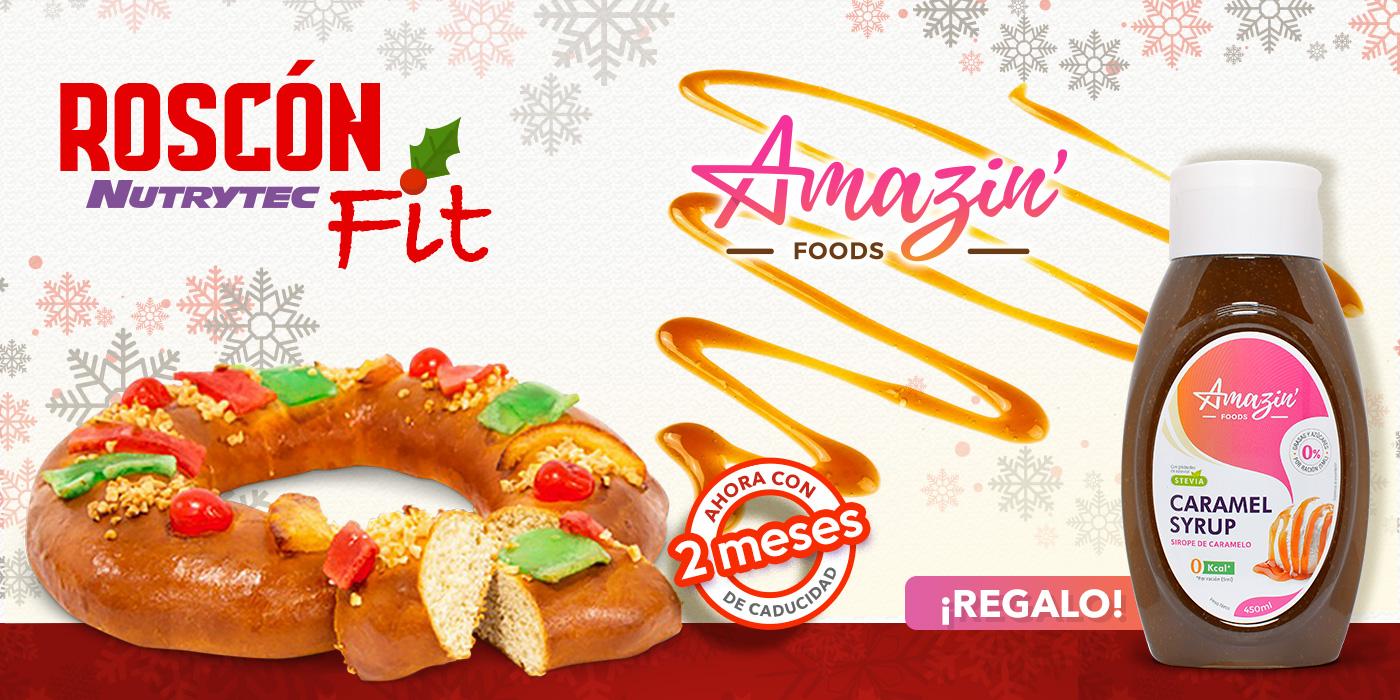 Roscón FIT + amazin foods