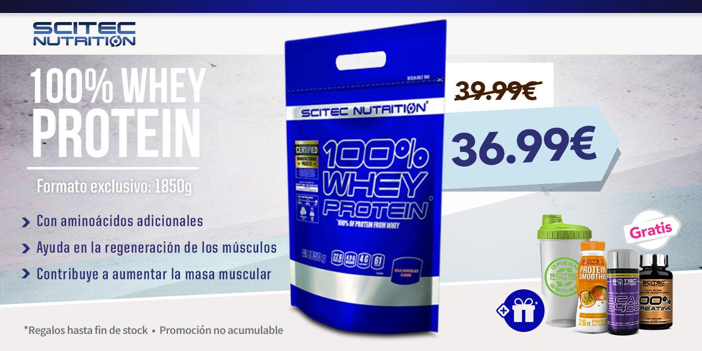 100% Whey Protein 1850g