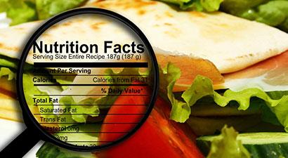 ¿Sabes cómo leer el etiquetado nutricional?