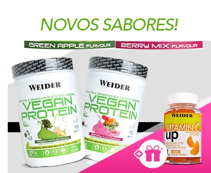 Promoção Vegan Protein