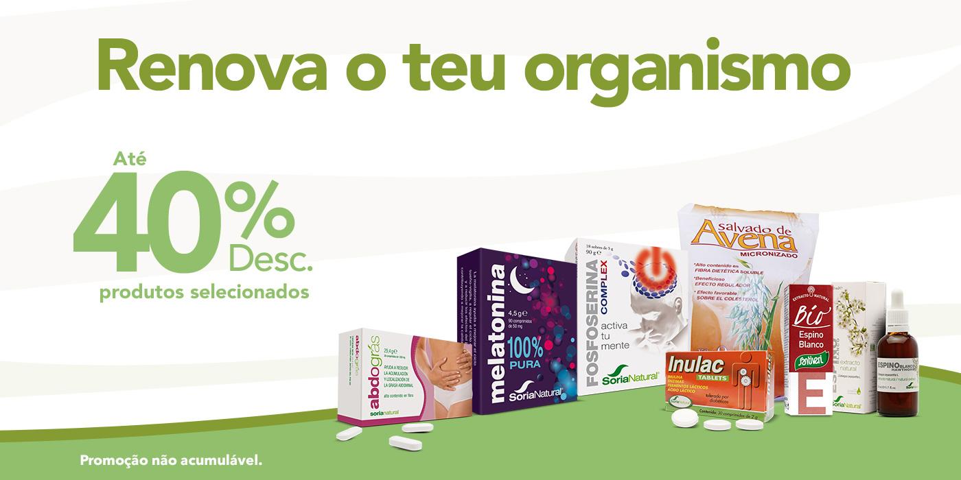 Soria Natural até 40%