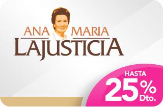 Ana María Lajusticia hasta -25%