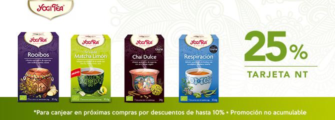 Yogi Tea 25% NT