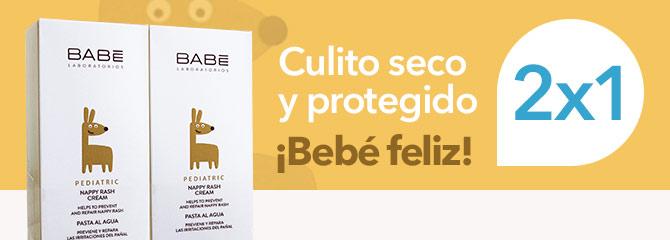 Babé Crema Pañal 2x1