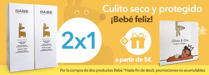Babe 2x1 en pediatric pasta al agua + regalo